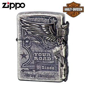 ジッポー ライター ハーレーダビッドソン HARLEY DAVIDSON バイク好き オイルライター ジッポライター zippo HDP28 バイク好き 彼氏 男性 メンズ 喫煙具 ブランド ギフト プレゼント 贈り物 返品不可