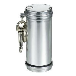 携帯灰皿 おしゃれ かわいい アッシュシリンダーアルミ製(シルバー) ギフト プレゼント 贈り物 メンズ Men's おしゃれ