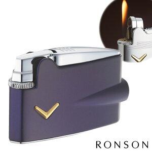 ロンソン ライター ガス プレミアヴァラフレームミニ フリントガスライター R31-1009 メタリックブルー ギフト プレゼント 贈り物 USBライター メンズ Men's おしゃれ