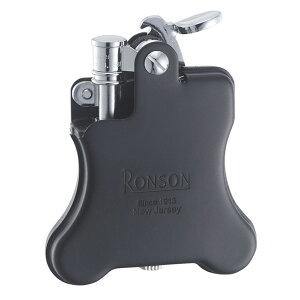 ライター ロンソン オイルライター RONSON ロンソン バンジョー フリントオイルライター 黒マット R01-0027 ギフト プレゼント 贈り物 USBライター メンズ Men's おしゃれ