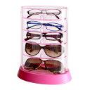 おとこの雑貨屋 メガネ収納 眼鏡 収納ケース めがね コレクションケース アイコレクタワー ピンク ギフト プレゼント【RCP】