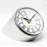 時計卓上タイプクロック置時計置き時計おしゃれインテリアアンティークブランドカフェスタイルシンプル雑貨プレゼント置き時計シルバーSILVERCLOCK0251-zk-46097KG