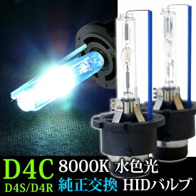 あす楽 HIDバーナー D4Cバルブ 35W用 8000K D4R D4S兼用バーナー 送料無料 [D4CK8]