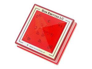 サンエミッター LC-24-RR 点滅発光/常時点灯 赤レンズ 赤LED 防滴構造LED 表示灯ブラケット(専用金具)取り付け※ご注文時選択項目※発光方式 : 点滅発光/常時点灯