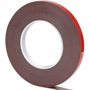 超強力 両面テープ 幅10mm×長さ10m×厚さ1mm 車用両面テープ はがせる両面テープ 透明 アクリルフォーム両面テープ 作業用両面テープ 厚手 多用途