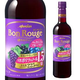 ボン ルージュ プラス カシス 720ml ペットボトル 長S 国産ワイン 日本 メルシャン キリン Bon Rouge ボン・ルージュ
