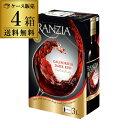《箱ワイン》フランジア ダークレッド 3L×4箱【ケース(4箱入)】【送料無料】[ボックスワイン][BOX][ワインタップ][…