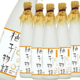 柚子物語<ゆずリキュール>7度 500ml×6本【6本セット】【送料無料】[長S]