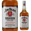 ジムビーム 1L <並行>40度 1,000ml[ウイスキー][バーボン][ジンビーム][ジム・ビーム][ホワイト][並行品][長S]