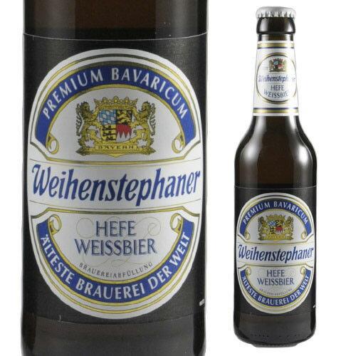 【ママ割P5倍】ヴァイエンステファン・ヘフヴァイス330ml 瓶[クラフトビール][ステファン][ドイツ][ホワイトビール]