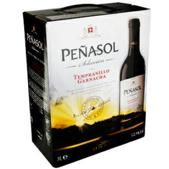 """""""Box of wine"""" Pena Sol, Tint 3 l Penasol Tinto"""