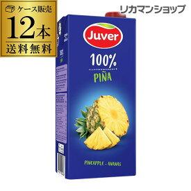 送料無料JUVER フベル パイナップル100%ジュースケース(12本入り) pineapple 100%濃縮還元 長S