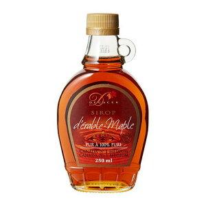カナダ産 デカセールメープルシロップ 330g(250ml)グレードA アンバー リッチ テイストdecacer pure maple syrupgrade a amber rich tasteメイプルシロップ 長S