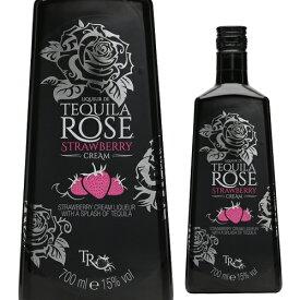 テキーラローズ ストロベリークリーム 15度 750m[リキュール][tequila][rose][長S] お歳暮 御歳暮