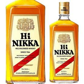 (全品P2倍 11/25限定)ニッカ ハイニッカ 39度 720ml[ウイスキー][ニッカ][日本][ブレンデッド] お歳暮 御歳暮