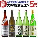 3/1限定全品P4倍3月限定 300円offクーポン日本酒 飲み比べセット ギフト 大吟醸 飲み比べ セット 送料無料 日本酒 金…