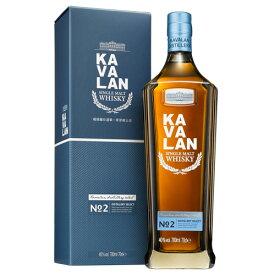 8月先着300円クーポンKAVALAN カバラン ディスティラリーセレクト No.2 700ml 40度 シングルモルト ウィスキー whisky 台湾 カヴァラン 長S