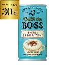 カフェ・ド・ボス ふんわりカプチーノ 180g×30本 BOSS 缶コーヒー サントリー 長S