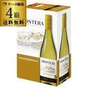 《箱ワイン》フロンテラ フレッシュサーバーシャルドネ3L×4箱 コンチャ イ トロ【ケース(4本入)】【送料無料】[ボッ…