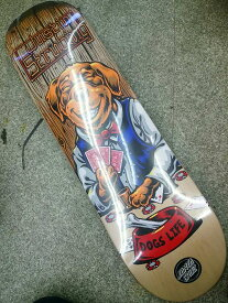 【SANTA CRUZ 】 POKER DOG STRUBING 8.3×32.2 Skateboard Deck サンタクルーズ スケートボード デッキ