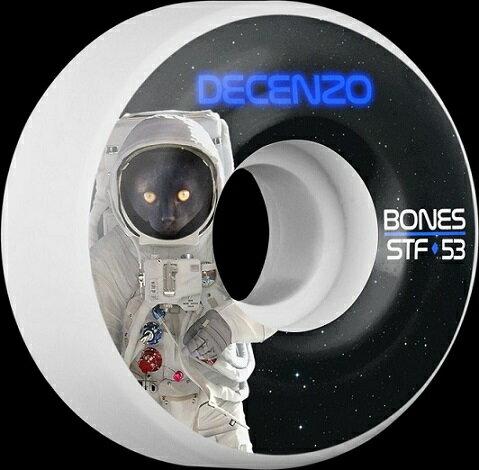 Bones WHEEL V2 STF DECENZO CATSRTONAUGHT 53x29MM ボーンズ ウィール スケートボード