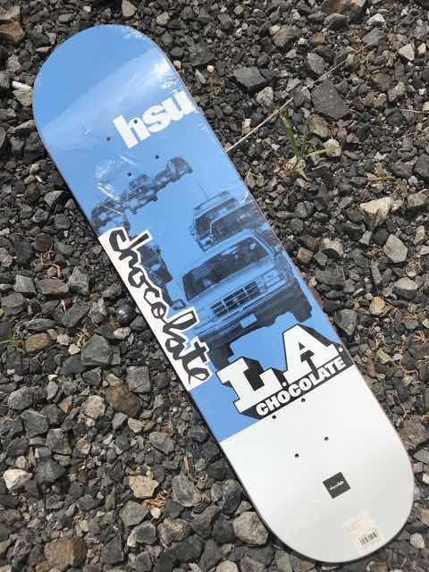 【CHOCOLATE】ANGEL CITY  JERRY HSU 7.75×31.125 Skateboard Deck チョコレート スケートボード デッキ