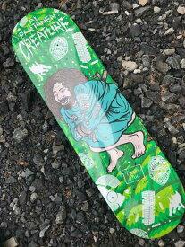 【 CREATURE 】 PSYCH WARD PARTANEN 8.3×32.2 Skateboard Deck クリーチャー スケートボード デッキ
