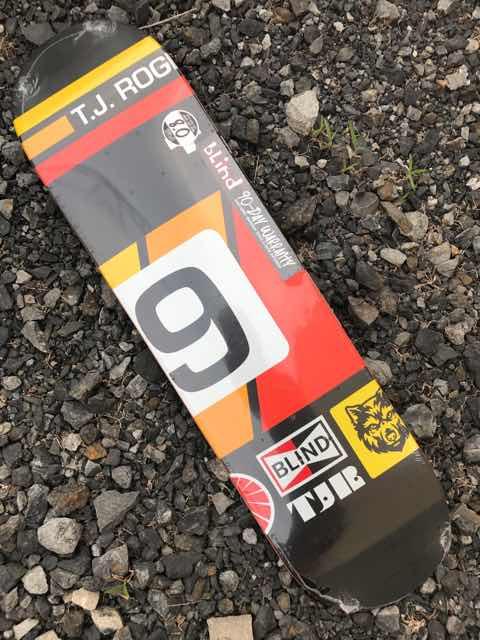 【BLIND】Racer Series TJ ROGERS 8.0x31.6  FULL concave Skateboard Deck ブラインド スケートボード デッキ