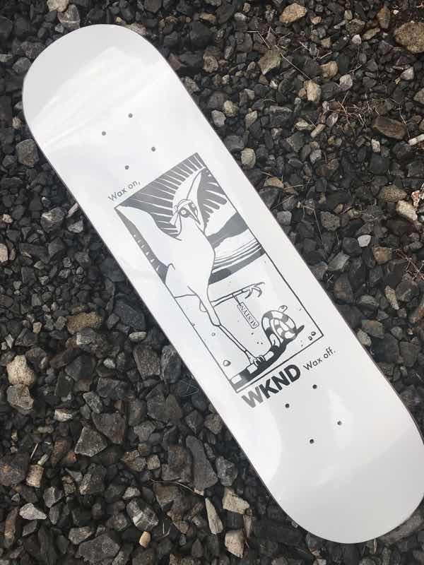 【WKND】8.0X31.875 Austyn Gillette Natural Selection Skateboard Deck ウィークエンド スケートボード デッキ