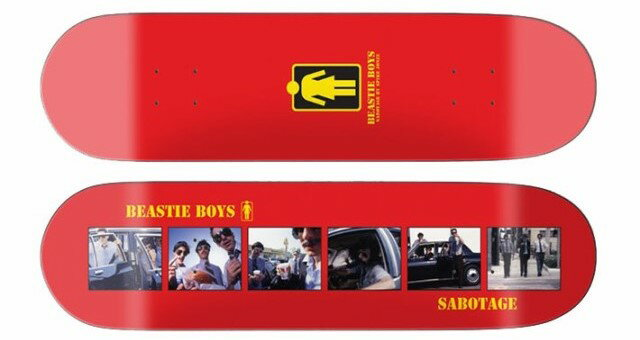 【Girl 】 Beastie Boys photographed by Spike Jonze. Sabotage Skateboard Deckガールスケートボード デッキ
