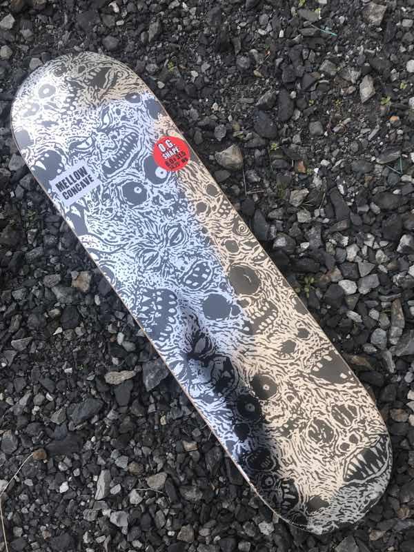 【BAKER】Sammy Baca Maniac Deck 8.0x31.5 MELLOW concave Skateboard Deck ベーカー スケートボード デッキ