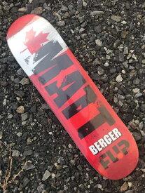【FLIP 】8.0X31.8 MATT BERGER INTERNATIONAL Skateboard Deck フリップ スケートボード デッキ