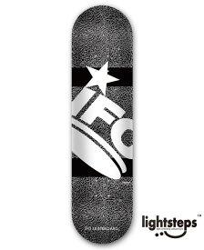 【IFO】7.375×29.75 CEMENT black Skateboard Deck セメント / チーム / キッズ / アイエフオー / スケートボードデッキ