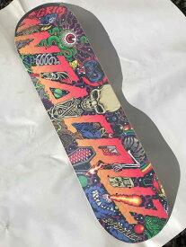 【Santa Cruz】 EVERSLICK PITCHGRIM UNIVERSE 8.375×32 Skateboard Deck サンタクルーズ スケートボード デッキ