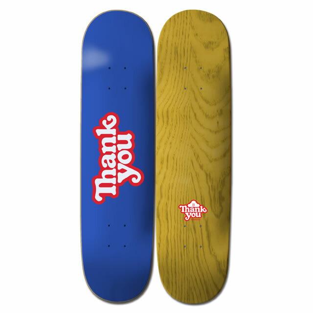 【Thank you 】LOGO 7.75×31.6 Skateboard Deck サンキュー スケートボード デッキ