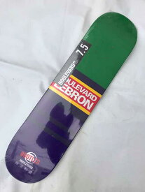【BOULEVARD(BLVD)】 7.5x31.3  Bootleg Lebron Skateboard Deck スケートボード デッキ
