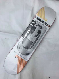 【BOULEVARD(BLVD)】 7.5x31.3   CARRERA TEAM Skateboard Deck スケートボード デッキ