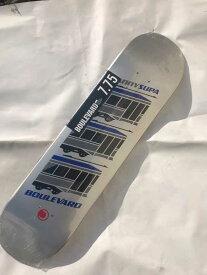 【BOULEVARD(BLVD)】 7.75x31.4  ICON IQUI Skateboard Deck スケートボード デッキ