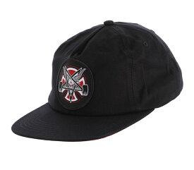 INDEPENDENTxTHRASHER インディペンデントxスラッシャー PENTAGRAM CROSS SNAPBACK HAT CAP