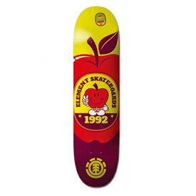 エレメント(ELEMENT) 7.75×31.7 YOU ARE WHAT YOU EAT SERIES YAWYE APPLE  Featherlight スケートボード デッキ DECK
