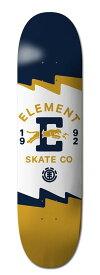 エレメント(ELEMENT) 7.75×31.7 SEE THROUGH DARKNESS SERIES TEAR  Featherlight スケートボード デッキ DECK
