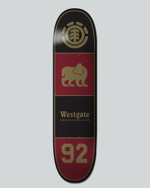 エレメント(ELEMENT) 7.8.75×31.625 SEE THROUGH DARKNESS SERIES WESTGATE CLASSIC   Featherlight スケートボード デッキ DECK