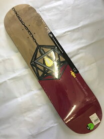 【GIRL】ILLMINATED BRANDON BIEBEL 8.0×31.875 Skateboard Deck ガール スケートボード デッキ