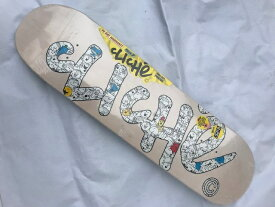 【CLICHE】Mr.MEN HANDWRITTEN 8.125×31.7 Skateboard Deck クリシェ スケートボード デッキ