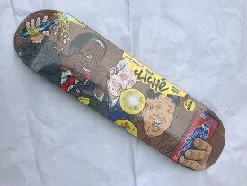 【CLICHE】JENKEM 8.375×31.7 Skateboard Deck クリシェ スケートボード デッキ