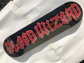 【BLOOD WIZARD】FUBAR LOGO 8.125×31.7 Skateboard Deck  スケートボード デッキ