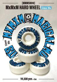 【MxMxM】HARD 99A 53mm Skateboard  WHEEL MAGICAL MOSH MISFITS マジカルモッシュミスフィッツ スケートボード