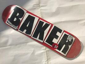 【BAKER】7.88×31.75 Brand Logo Black  Skateboard Deckベイカー スケートボード デッキ