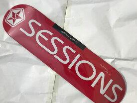 【SESSIONS 】7.75×31.1 Skateboard Deck セッションズ スケートボード デッキ