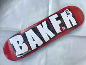 【BAKER】8.25×31.875 Brand Logo Skateboard Deckベイカー スケートボード デッキ